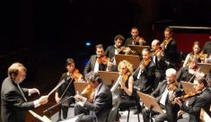 With Syrian Symphony Orchestra