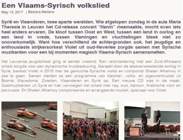 Vlaams-Syrisch-volkslied